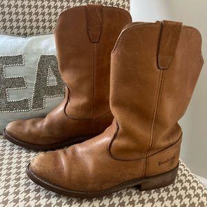 Vintage Dunham Leather Moto/Work Boots!!